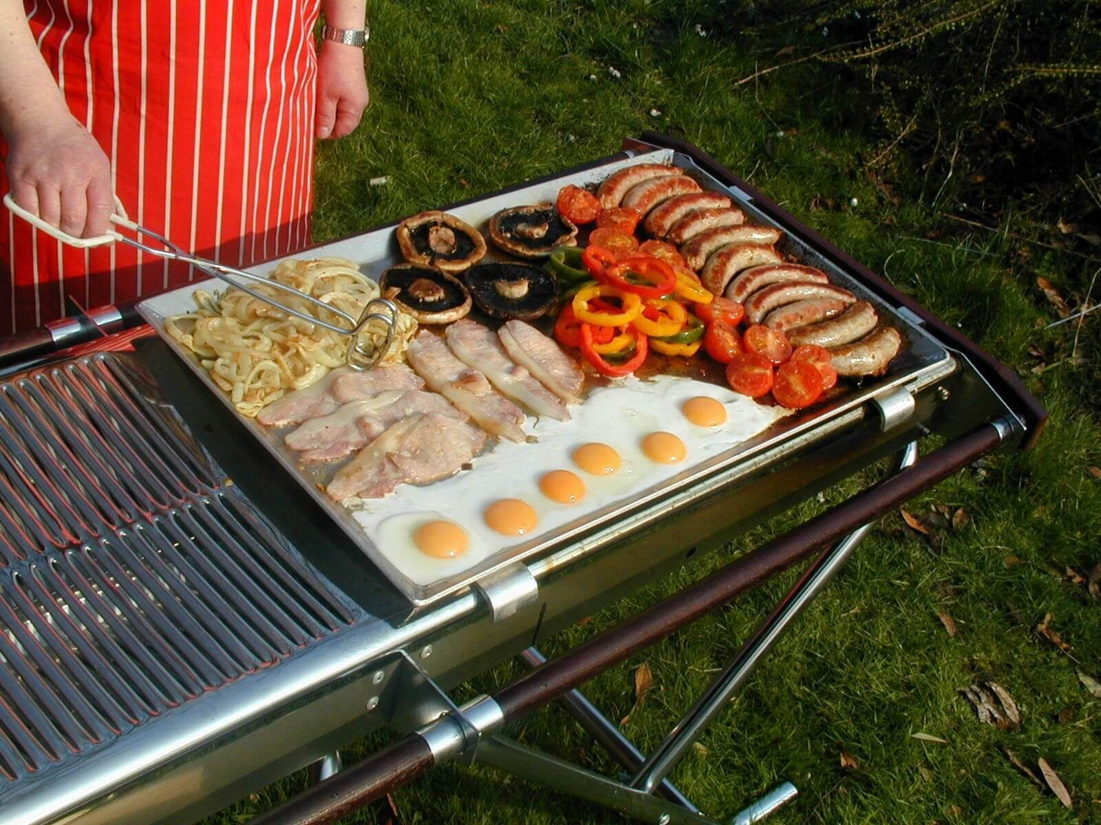 Flat Top Griddle Cinders BBQ Barbecue Catering Outdoor
